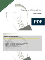 Fondamenti di Design della luce 1