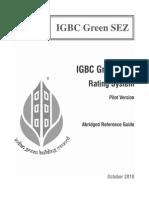 IGBC Green SEZ - Abridged Reference Guide (Pilot Version)