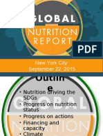 Haddad NY Launch of Global #NutritionReport Sept 22