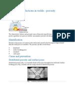 Defects Porosity