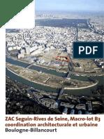 Macro-lot b3 Boulogne Billancourt