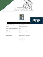Informe de Yacimiento de Minerales