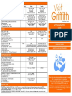 griffith accommodation 2015