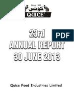 QFIL Annual Report 2014