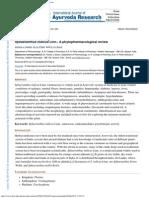 Galani Et Al. 2010 - Sphaeranthus Indicus Linn. a Phytopharmacological Review