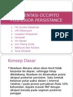 PRESENTASI OCCIPITO POSTERIOR PERSISTANCE.pptx