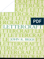 Lettercraft by John R. Biggs