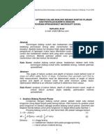 Persoalan Optimasi Dalam Analisis Bidang Runtuh Planar