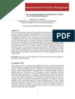 Journal of Facalities Management (2013)