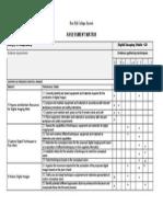 Assessment Matrix Digital Imaging