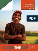 ctg progress and priorities report 2015