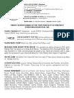 4th October 2015 Parish Bulletin