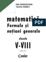 Matematica Memorator v-VIII