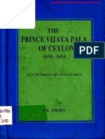 257763569 the Prince Vijayapala of Ceylon 1634 1654