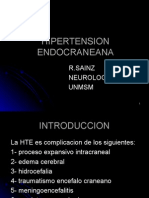 5. Fisiopatologïa de La Hipertension Endrocraneana - Dr. Sainz