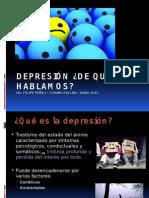 Depresión ¿de Que Hablamos