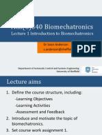 Biomechatronics Lecture1