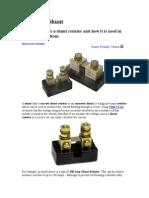 Shunt Resistor