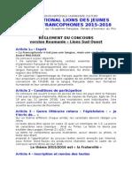 Concours Jpf Roumanie 2016