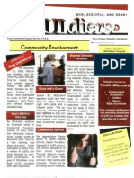 GCFI SOULdiers Newsletter - Youth Empowerment Support Services - Glory Christian Fellowship International