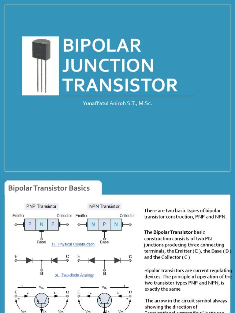 BJT.pdf | Bipolar Junction Transistor | Transistor