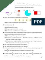 Frações - Matemática - 5.º ano