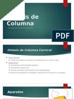 Ortesis de Columna