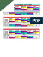 capital prep rotating schedule
