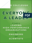 Everyone a Leader_ a Guide to L - David Colcleugh