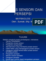 Proses Sensori Dan Persepsi