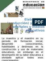 Medios y Materiales Educativos