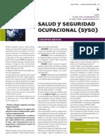 SySO Salud y Seguridad Ocupacional CHILE