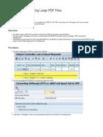 Converting Large PDF File