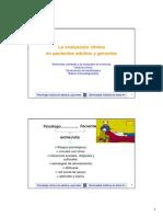 Clase Unidad 2 PSCOLOGIA CLINICA ADULTOS
