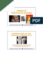 Clase Unidad 7 PSCOLOGIA CLINICA ADULTOS