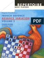 Sveshnikov, Evgeny - French Advance Vol 2 - Advance Variation