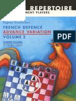 Sveshnikov, Evgeny - French Advance Vol 2 - Advance Variation