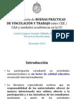 Buenas Prácticas Escuelas y CCAAEE - Observatorio
