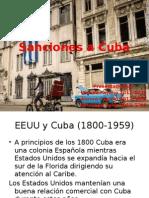 Sanciones a Cuba