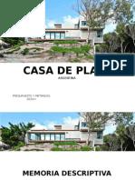 Casa de playa argentina