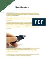 Bloqueo Parcial de Usb, Puertos USB de Sólo Lectura