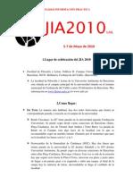 JIA2010 [Información Práctica]