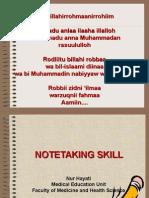 Writing Notetaking Skills