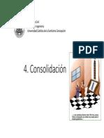 4. Consolidación