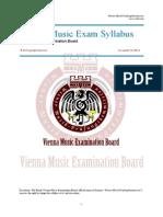VMEB Music Exam Syllabus