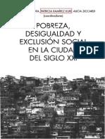 Libro Pobreza Desigualdad y Exclusion Social en La Ciudad Del Siglo XXI