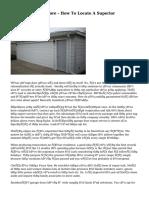 Garage Doors Restore - How To Locate A Superior Contractor