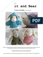 Final Rabbit and Bear Pattern