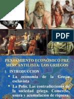 Pensamiento Económico Pre Mercantilista
