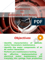 Maintenance for Generators and Motors_Training course.pptx
